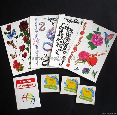 tattoo decals sticker china manufacturer products