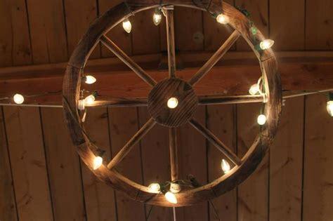 wagon wheel with lights weddings at awhc