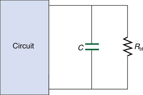 capacitor open circuit dc college physics dc circuits containing resistors and capacitors voer