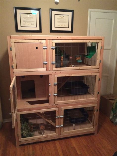Handmade Rabbit Hutch - rabbit hutches rabbit and on