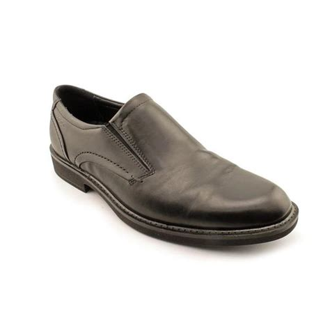 ecco s biarritz slip on leather dress shoes size 13