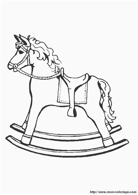 coloring pages of rocking horses rocking coloring pages