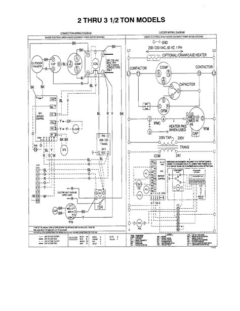 ac unit wiring diagram agnitum me and with for