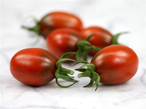 Tomot Black Plum black plum tomato baker creek heirloom seeds