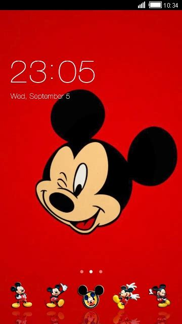 theme line mickey mouse free download mickey mouse theme for your android phone clauncher