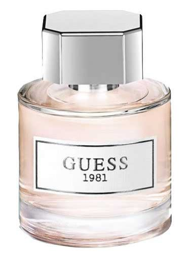 Parfum Guess guess 1981 guess perfume a new fragrance for 2017