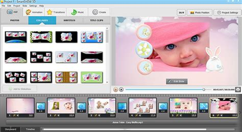 photo slideshow templates baby slideshow ideas baby song tips smartshow 3d