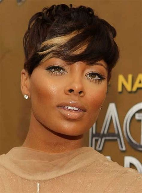 nice style haircut and color 28 trendy black women hairstyles for short hair popular