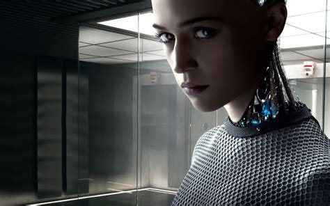 alicia vikander robot movie wallpapers ex machina alicia vikander movies robot