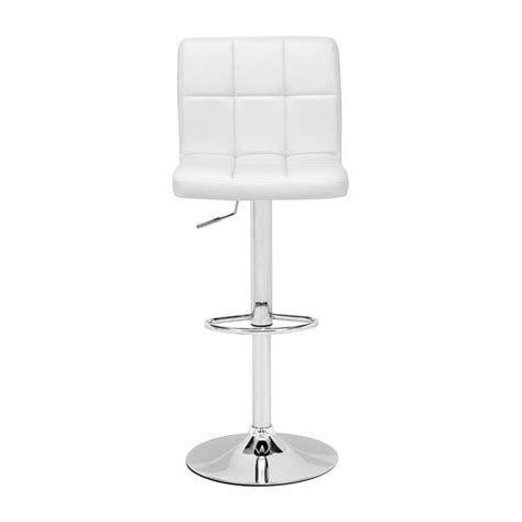 modern white bar stools modern bar stool z373 in white bar stools