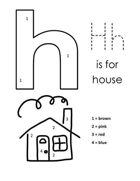 Lowercase Letter H Coloring Page by Lower Letter H Coloring Pages Only Coloring Pages