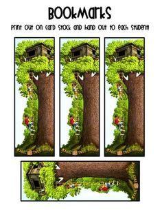 Magic Tree House Printable Bookmarks