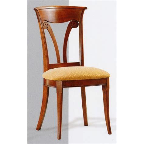 chaise directoire n 176 1 en merisier meubles de normandie