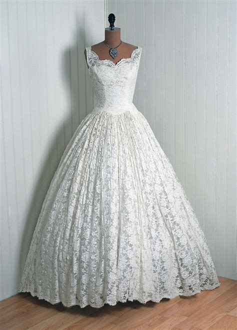 vintage 1950s wedding dresses gorgeous 1950s wedding dress vintage vault