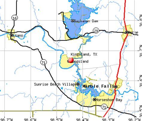 kingsland texas map kingsland texas tx 78639 profile population maps real estate averages homes statistics