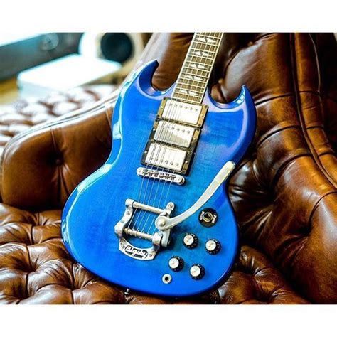 Best 4 Sg 60 Best Gibson Sg Blue Images On Gibson