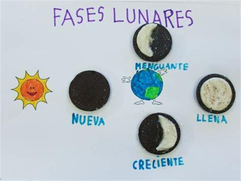maquetas de lasfaces de la luna maqueta de fases de la luna imagui