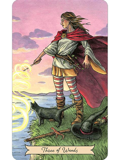 everyday witch tarot the fools dog