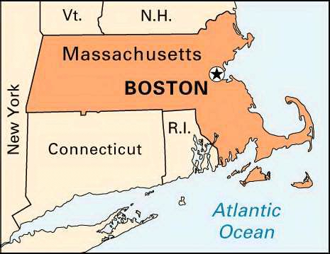 map of us states boston maps us map boston massachusetts