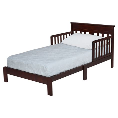 toddlee bed espresso toddler bed kmart com