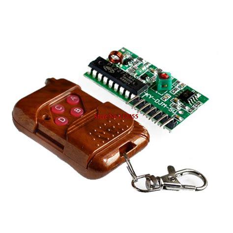 1 Set Wirelles Remote Kit Transmitter Receiver aliexpress buy 1set ic 2262 2272 4 ch 315mhz key wireless remote kits receiver