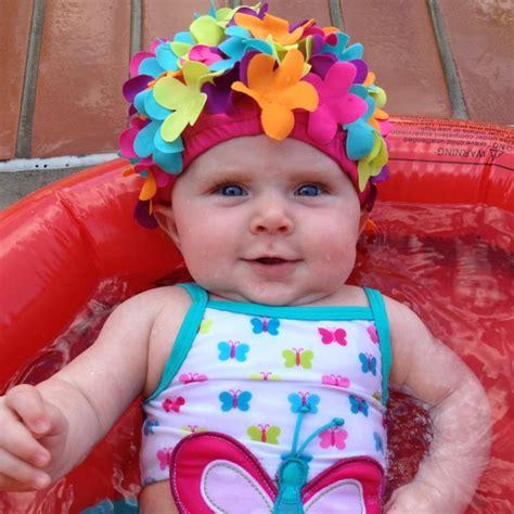Flower Swim Cap 1000 images about floral swim caps on