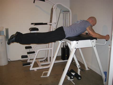 reverse hyper bench reverse hyperextension the only back exercise to start
