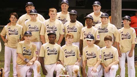 11 12 year old boys all star team includes franklin county 12 year old majors all stars daily leader