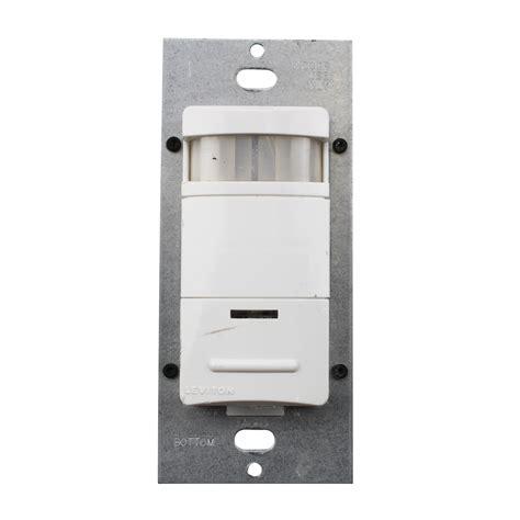 occupancy sensor light switch adjustment leviton ods15 idw decora pir wall switch occupancy