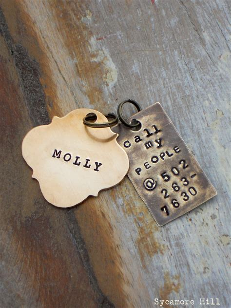 Handmade Pet Tags - call my pet tag handmade sted you by