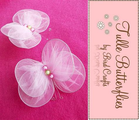organza butterfly tutorial diy new sew tulle butterflies tutorial butterfly crafts