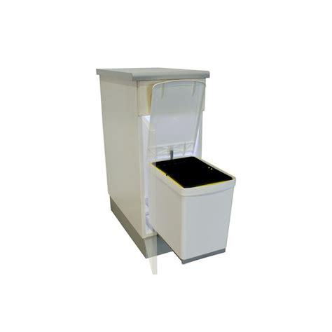poubelles de cuisine encastrables meuble poubelle cuisine table de cuisine
