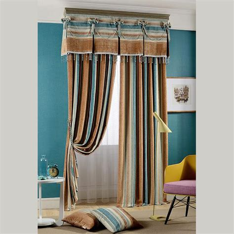 how to make a room dark without curtains brown and dark blue jacquard striped country curtains for