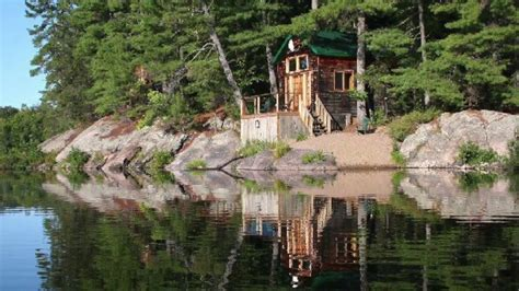 private island parry sound cottage for rent 408 on