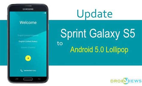 android update 5 0 update sprint galaxy s5 sm g900p to official android 5 0 lollipop droidviews