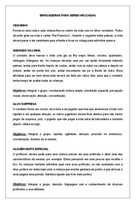 PATY EDUCANDO: SUGESTÃO DE BRINCADEIRAS