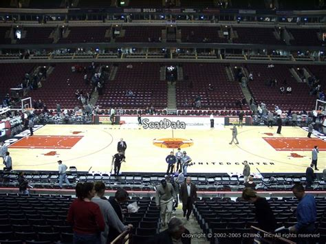 section 111 united center united center section 111 seat views seatscore rateyourseats