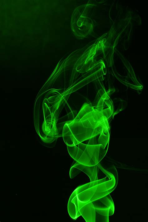 Wallpaper Green Smoke | green smoke by crystalsly on deviantart