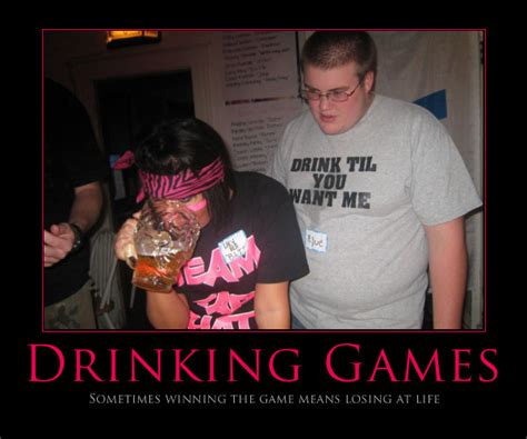 Drinking Game Meme - all fun and games drinkers de light