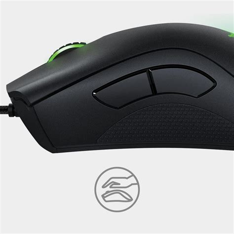 comfortable gaming mouse com razer deathadder chroma multi color