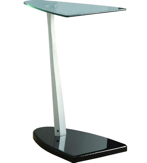 glass accent table tempered glass accent table in tv tray tables