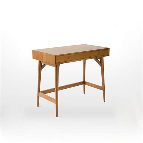 elm mid century mini desk mid century mini desk acorn elm