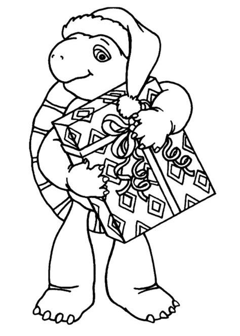Christmas Turtle Coloring Page | christmas ninja turtles coloring pages az coloring pages