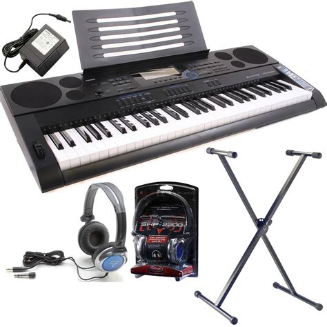 Baru Keyboard Casio Ctk 6000 casio ctk 6200 hi grade keyboard pack including headphones stand ac adapter