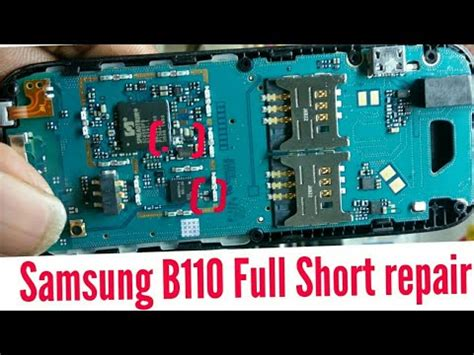 samsung b110e dead solution how to repair samsung b110