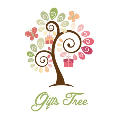 design inspiration gifts gifts tree and leaves logo design gallery inspiration