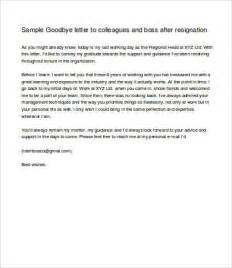 all resumes 187 goodbye letter resignation free resume