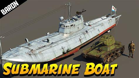 war boat g 5 russian submarine boat war thunder ships youtube