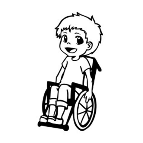Rollstuhl Aufkleber Für Auto Kaufen by Junge Im Rollstuhl Hot And Cool Autoaufkleber