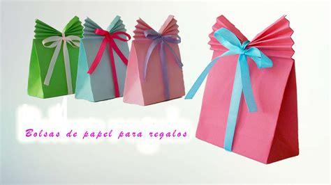 decorar regalos como hacer bolsas de papel para regalo manualidades de lina